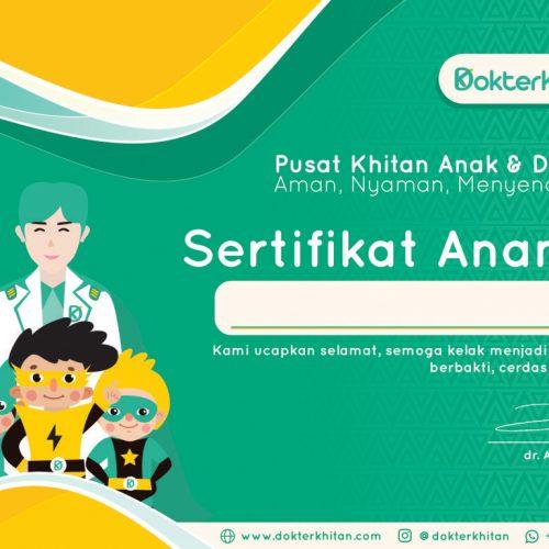 Certificate 1 Terbaik DK